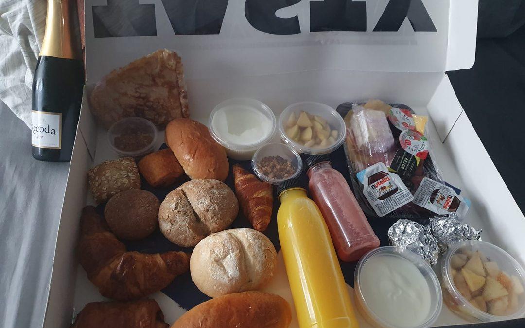 Ontbijtmanden in het weekend